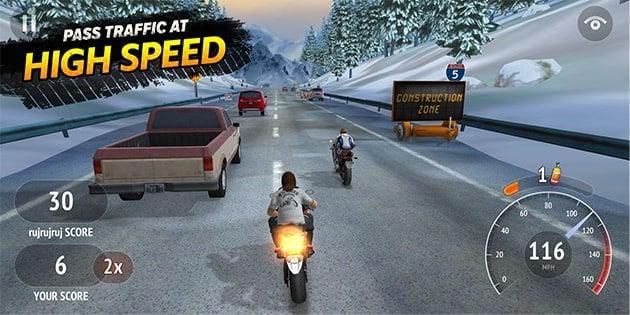 Highway Rider Motorcycle Racer screenshot 1