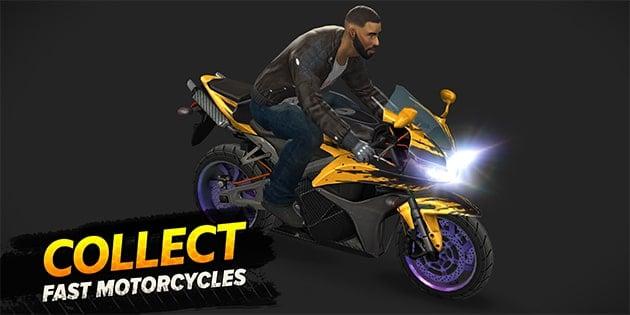 Highway Rider Motorcycle Racer screenshot 4