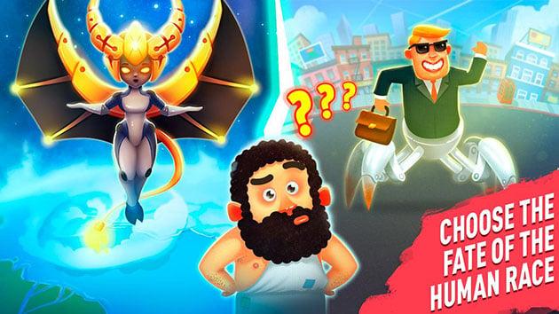 Human Evolution Clicker Game screenshot 2