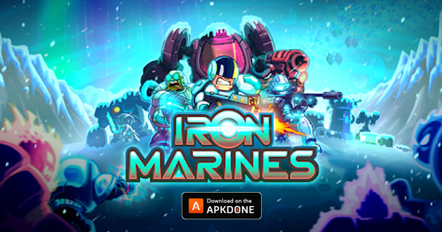 Iron Marines poster