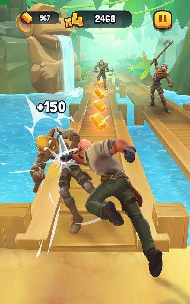 Jumanji Epic Run screenshot 1