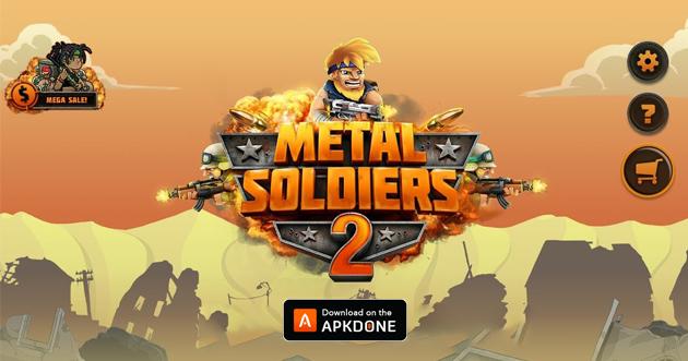 Metal Soldiers 2 poster