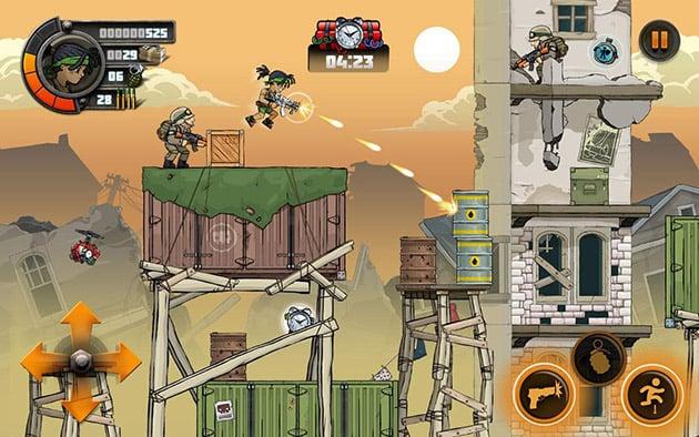 Metal Soldiers 2 screenshot 1