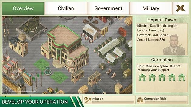 Rebel Inc screenshot 3
