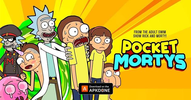 Rick and Morty: Pocket Mortys poster