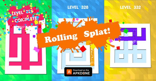 Roller Splat poster
