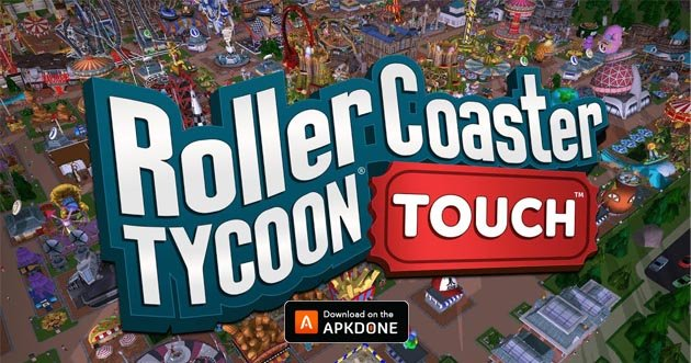 RollerCoaster Tycoon Touch poster