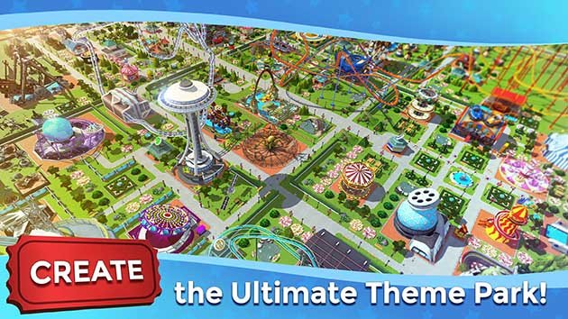 RollerCoaster Tycoon Touch screenshot 1
