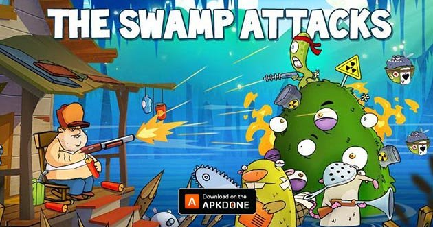 Swamp Attack poster
