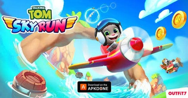 Talking Tom Sky Run poster