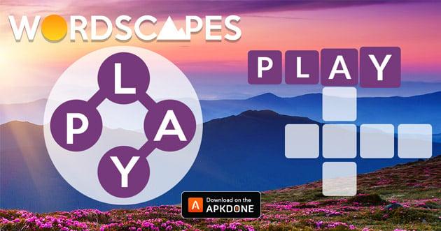 Cartel de paisajes de palabras