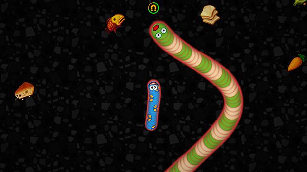 Worms Zone.io screenshot 4