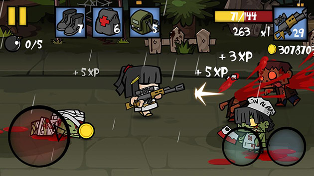 Zombie Age 2 screenshot 1