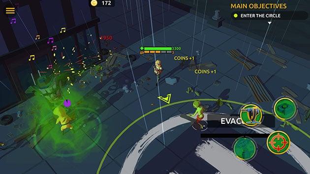 Zombie Blast Crew screenshot 1