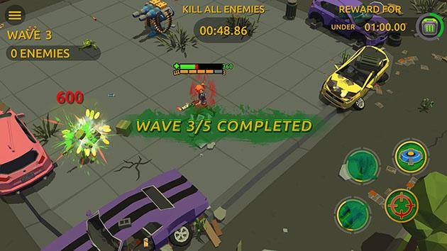 Zombie Blast Crew screenshot 4