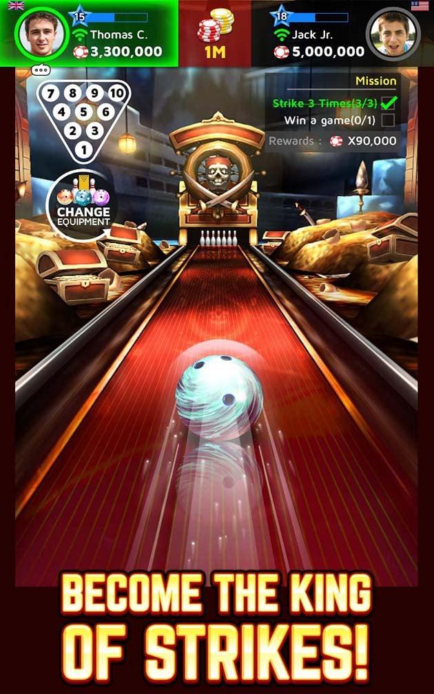 Bowling King screenshot 1