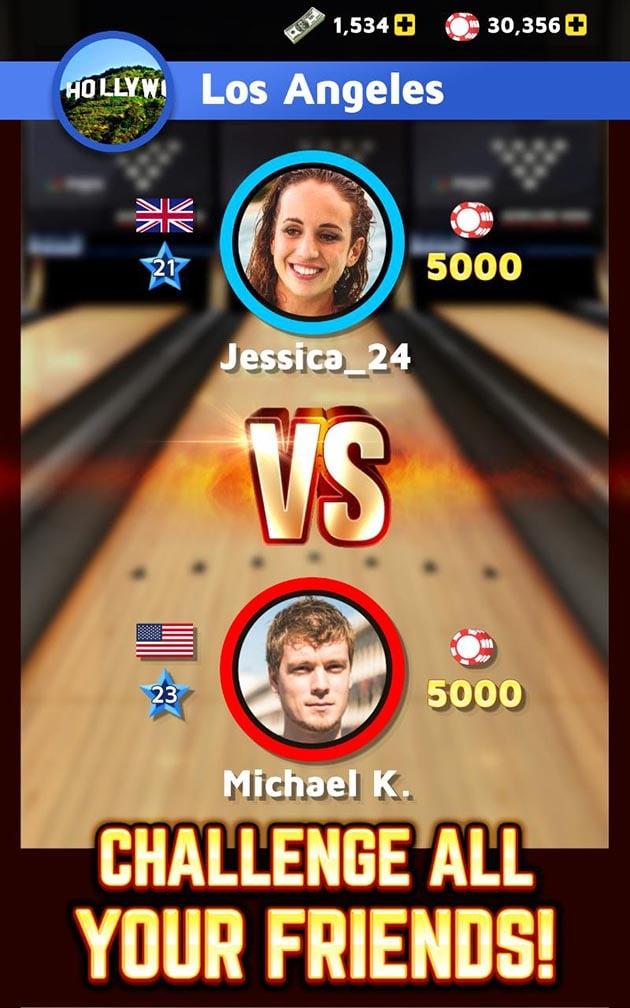 Bowling King screenshot 3