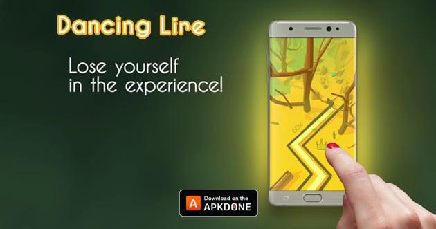 Dancing Line poster