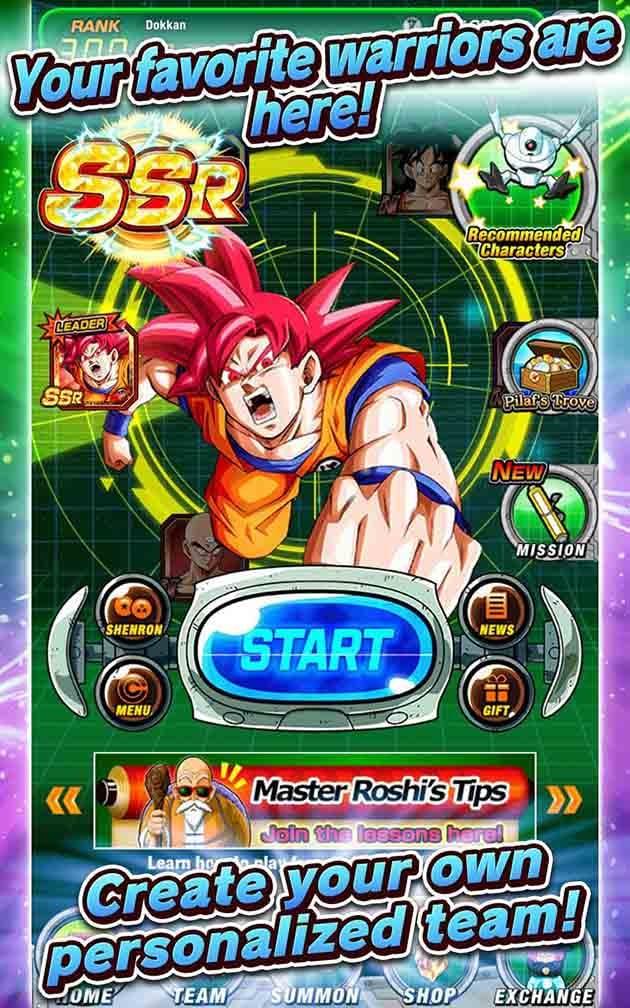 Dragon Ball Z Dokkan Battle screenshot 1