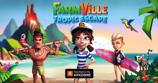FarmVille 2 Tropic Escape poster