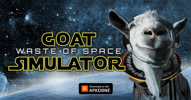 Goat Simulator Waste of Space poster