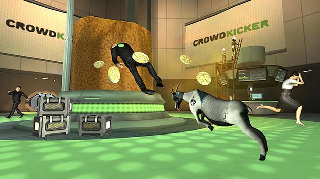Goat Simulator Waste of Space screenshot 1