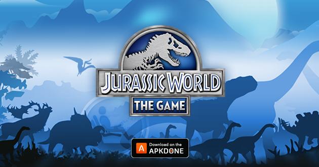 Jurassic World the game poster