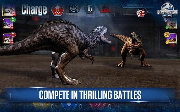 Jurassic World the game screenshot 2