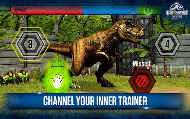 Jurassic World the game screenshot 3