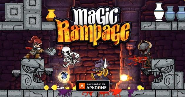 Magic Rampage poster