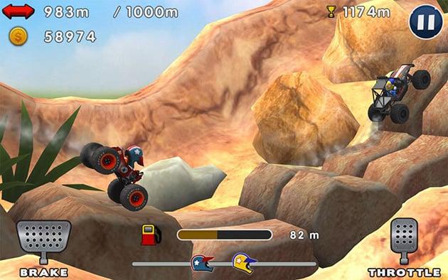 Mini Racing Adventures screenshot 2