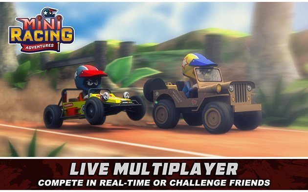 Mini Racing Adventures screenshot 3