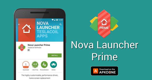 Nova Launcher Prime poster