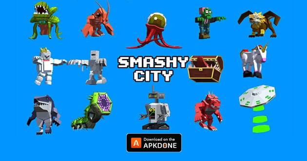 Smashy City poster