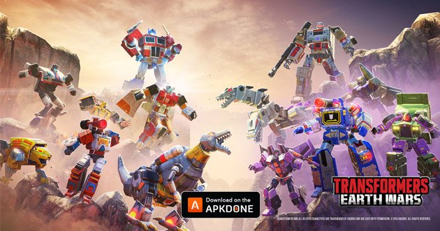 Transformers Earth Wars poster