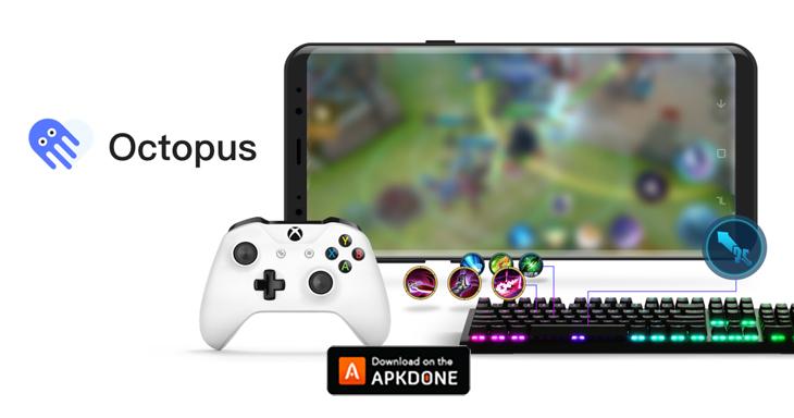 Octopus gamepad poster