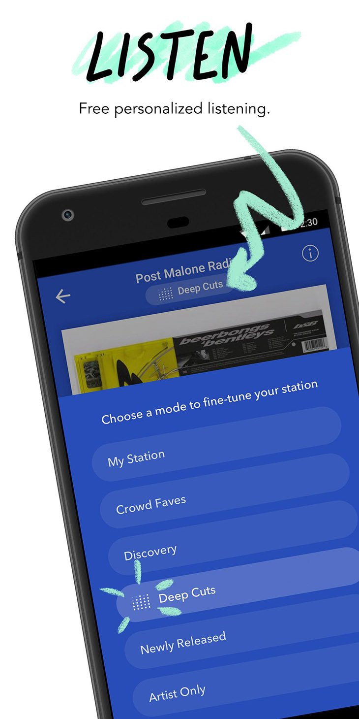 Pandora Streaming Music screenshot 2