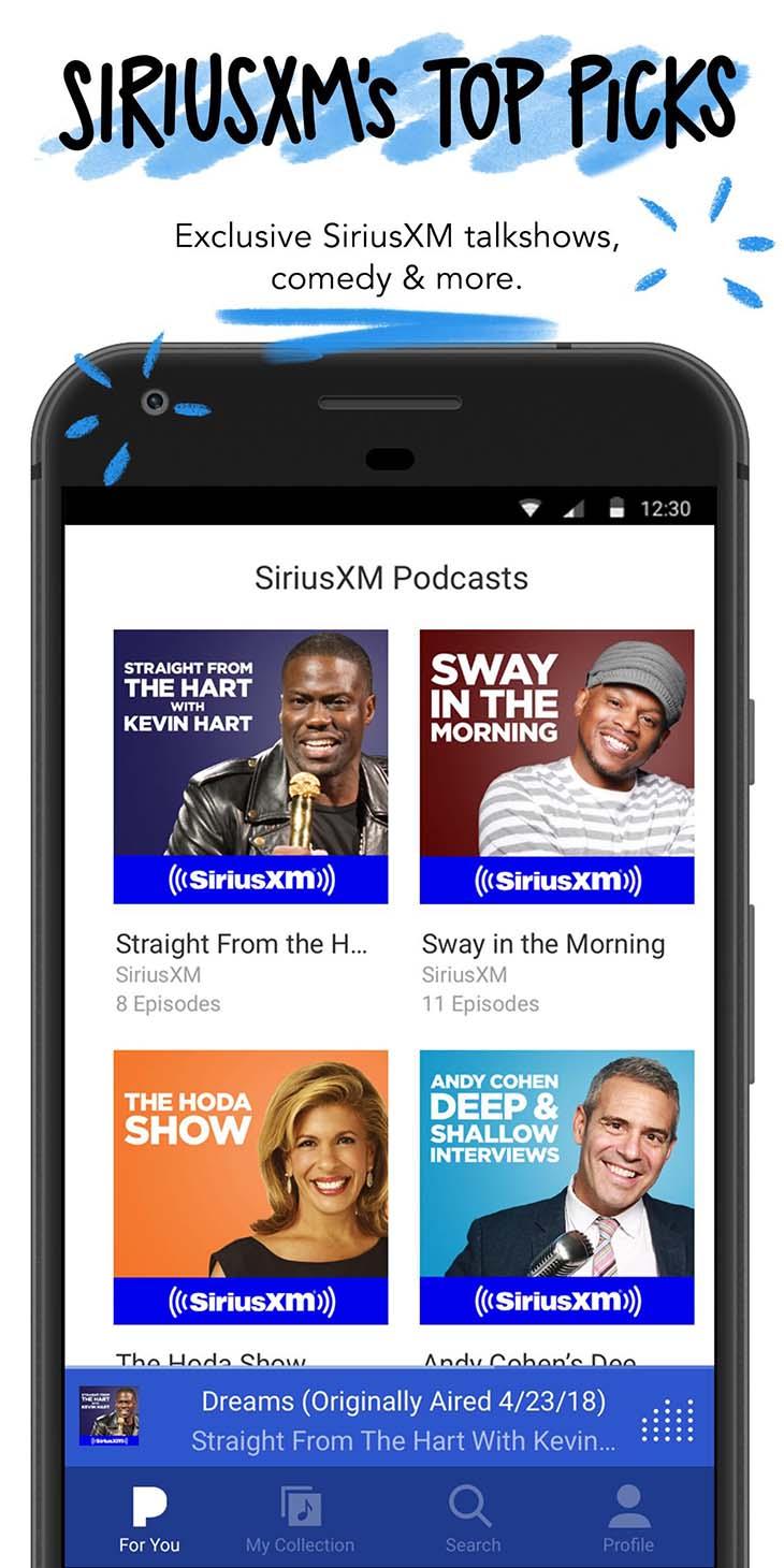 Pandora Streaming Music screenshot 3