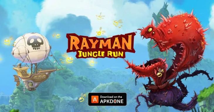 Rayman Jungle Run poster