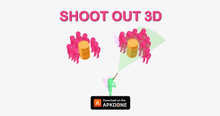 Shootout 3D poster