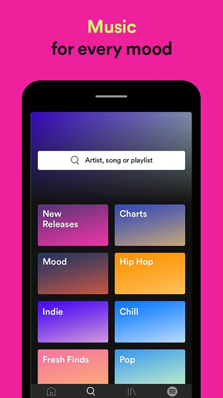 Spotify screenshot 4