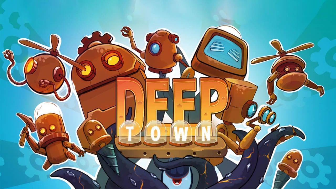 Deep Town Mining Factory poster