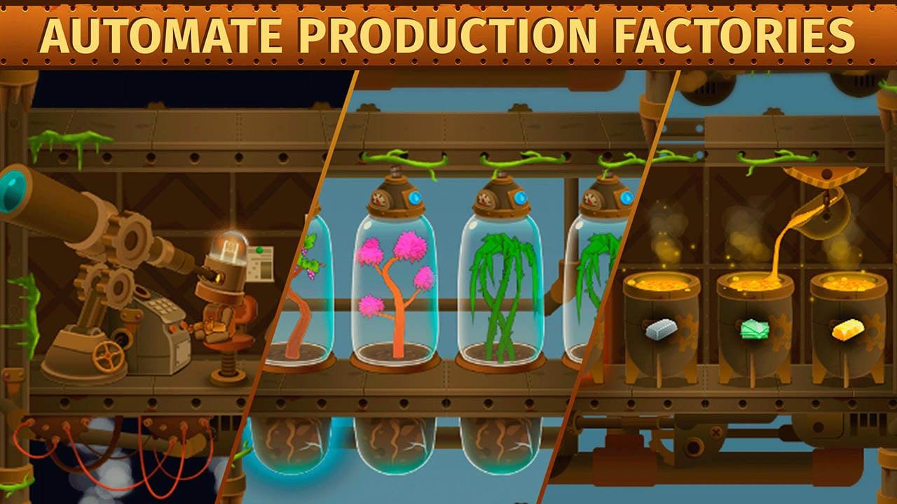 Deep Town Mining Factory screenshot 2