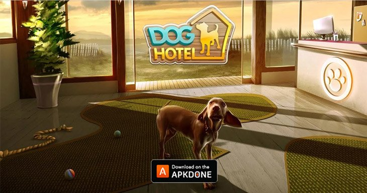 Dog Hotel game poster