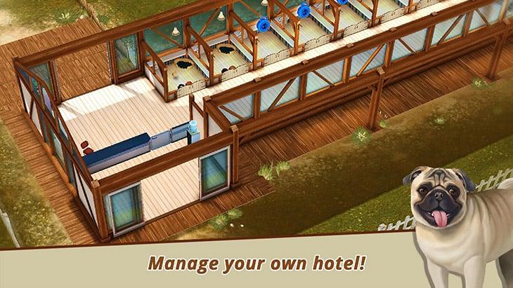 Dog Hotel game screenshot 1