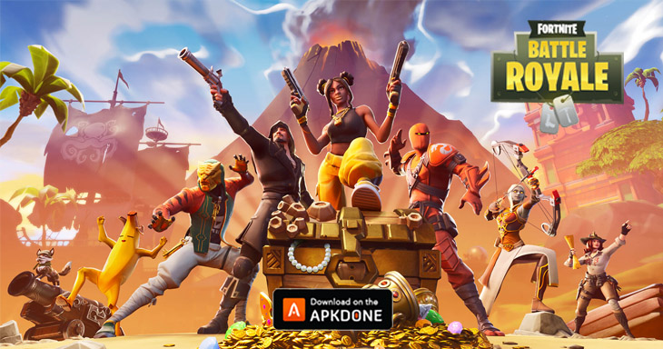 Fortnite Mobile Battle Royale poster