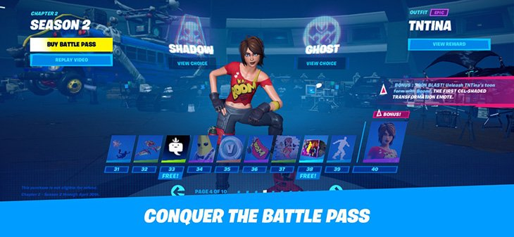 Fortnite Mobile Battle Royale screenshot 1