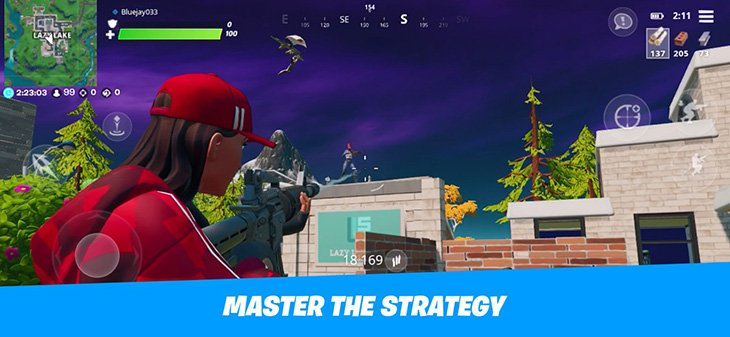 Captura de tela 2 do Fortnite Mobile Battle Royale