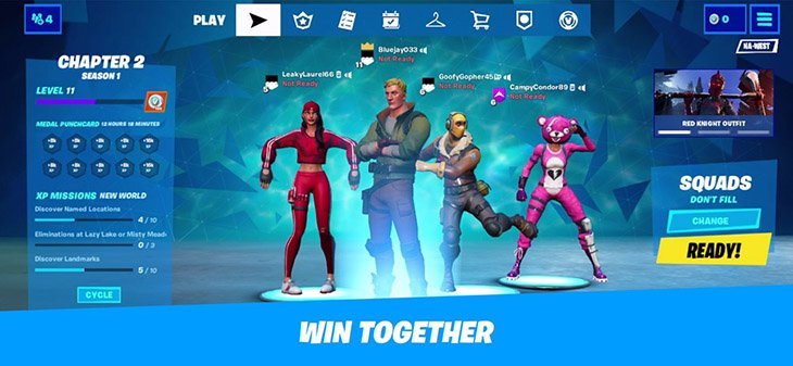 Fortnite Mobile Battle Royale screenshot 4