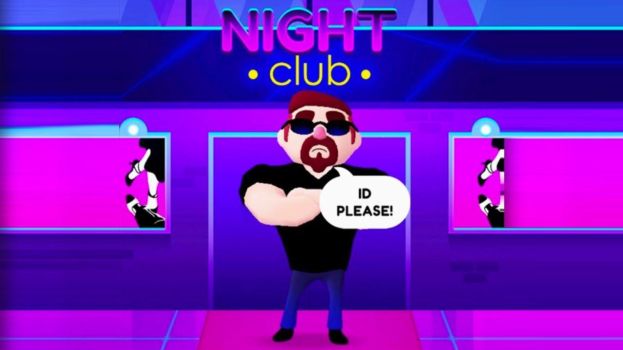 ID Please: Club Simulation poster